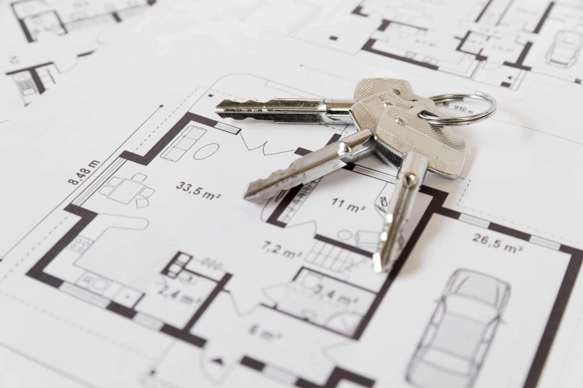 plan mieszkania na sprzedaż